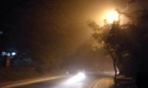 Smog in Delhi.