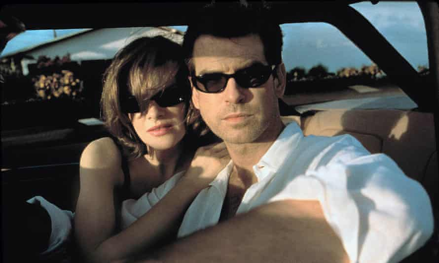 Thick as thieves ... Rene Russo and Pierce Brosnan in The Thomas Crown Affair.