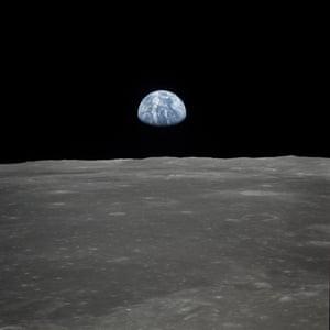 Earthrise taken by the Apollo 11 crew