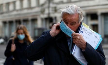 The EU's chief negotiator, Michel Barnier