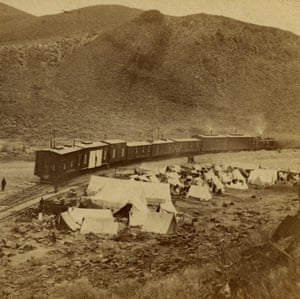 Chinese Camp, at End of Track, 1868