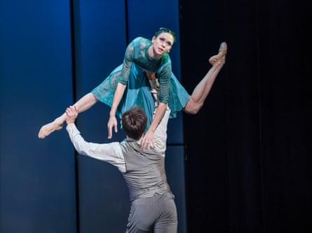 Oleg Gabyshev and Lyubov Andreyeva in Up & Down.
