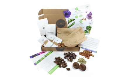 Grow your own veg boxes, £12.99/ monthlySingle boxes also availableseedpantry.co.uk