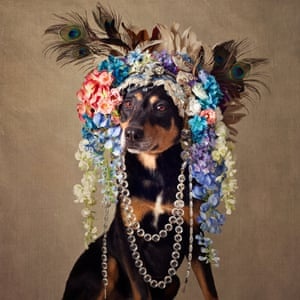 Midnight wears a stunning headdress donated by New York designer Joan Marentis Kelly