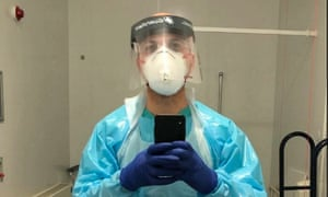 HassanAkkad cleaner Covid wards at Whipps Cross