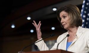 Nancy Pelosi speaks on Thursday.