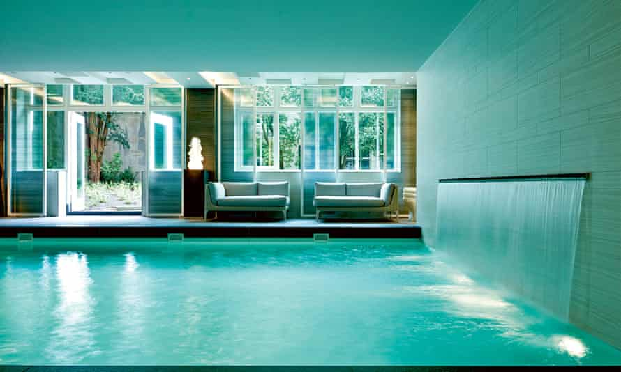 Worth splashing out: the pool at the Waldorf Astoria.