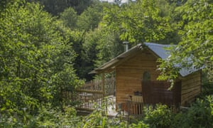 Owlet Cabin At Owl Valley Glamping Owl Valley Glamping, Bideford, Devon.