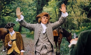 Ryan O'Neal in Barry Lyndon.