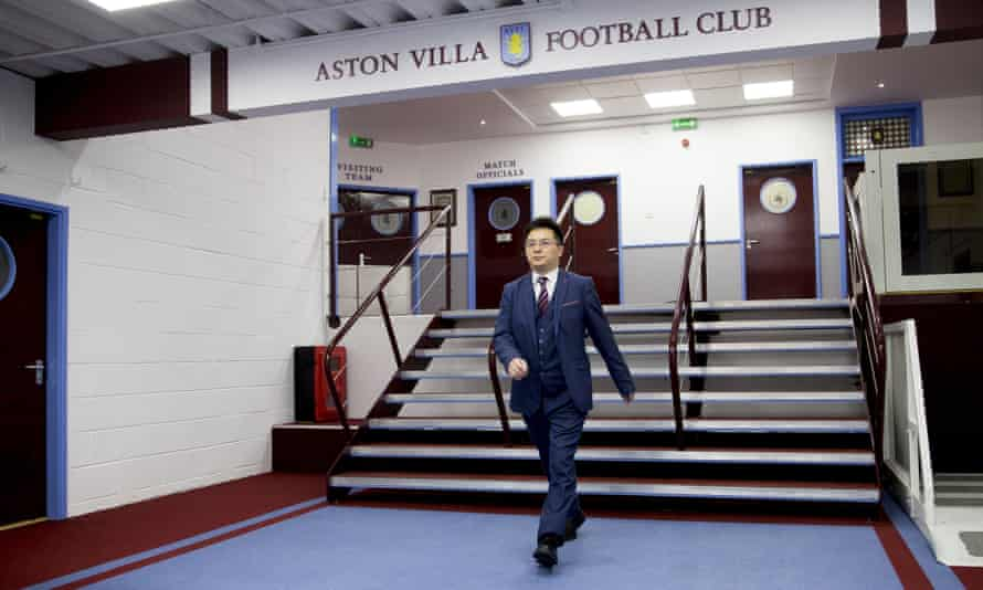 Chinese businessman Tony Xia bought Aston Villa for £76m earlier this year.