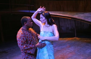 As Pericles, with Kate Fleetwood as Thaisa, at the Swan theatre in Stratford-upon-Avon in 2006