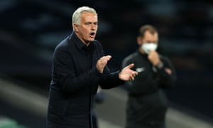 José Mourinho said that the fan would be welcome back at the Tottenham Hotspur Stadium.