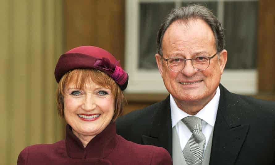 David Mills and Tessa Jowell pictured in 2013. He said that by publicising the shortage of research she had given 'people hope that they wouldn't have had'.