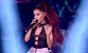 Ariana Grande is up for two Grammy awards: best pop solo performance and best pop vocal album.