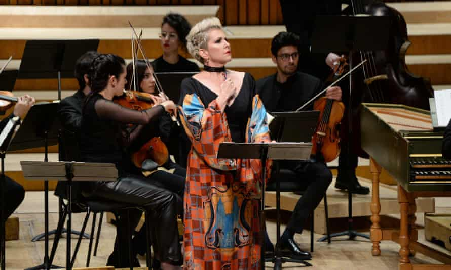 Joyce DiDonato in the title role of Agrippina at the Barbican.