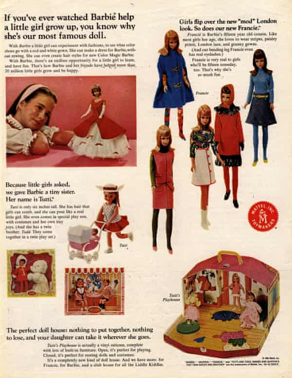 A Barbie advert from the 1960s.