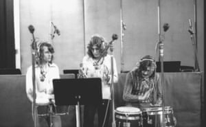 """""""The middle bit of Whole Lotta Love was sort of my idea, but didn't end up in any way I thought it would"""" - John Paul Jones. Recording overdubs to the middle section of Whole Lotta Love, A&M Studios, Los Angeles, May 1969."""
