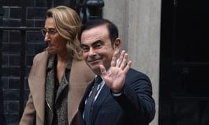 Carlos Ghosn leaves No 10