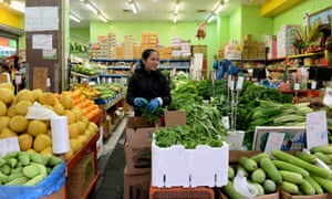 A fruit and vegetable store in Cabramatta