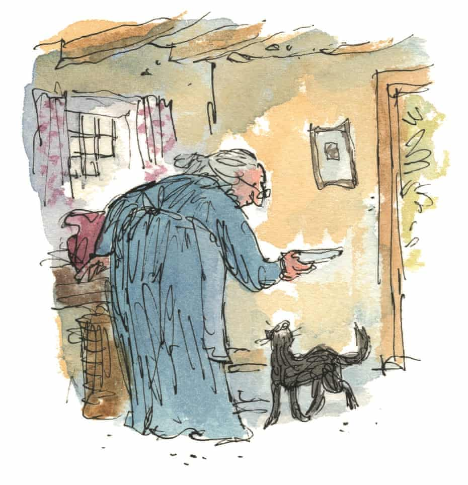 Quentin Blake's Kitty in Boots illustration