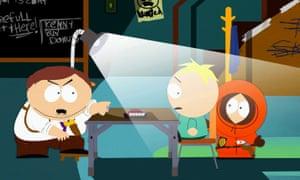 True genius... South Park