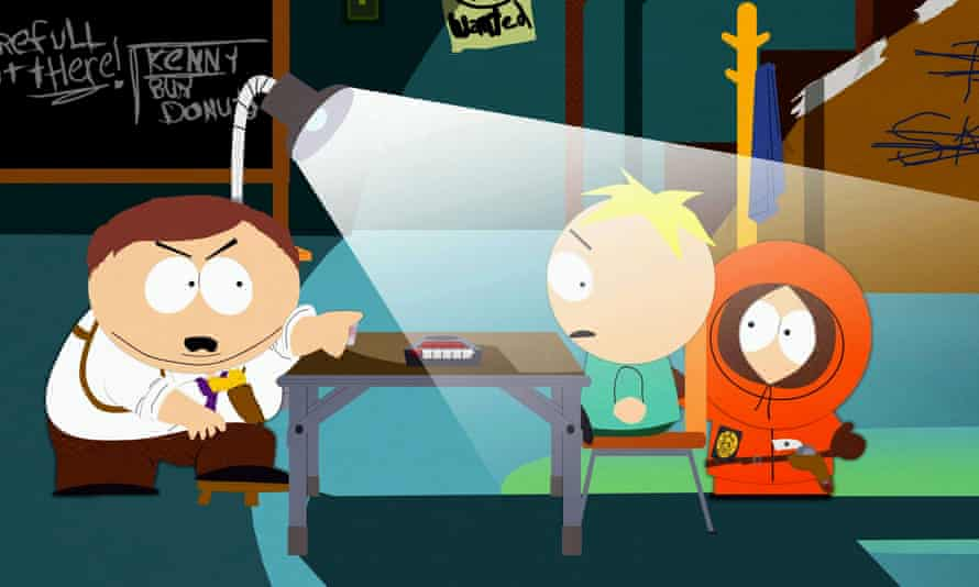 Fantastically inventive … South Park.
