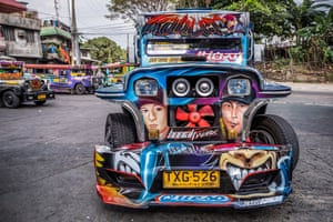 """Patok Jeepney"" are equipped with high powered sound systems"