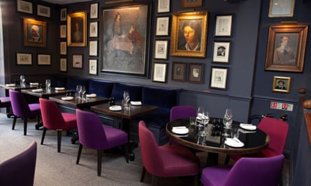 'The banquettes are comfortable. The art on the walls is to die for': Parsonage Grill, Oxford.