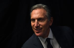 Howard Schultz: 'I am not, in any way, in bed with a party.'