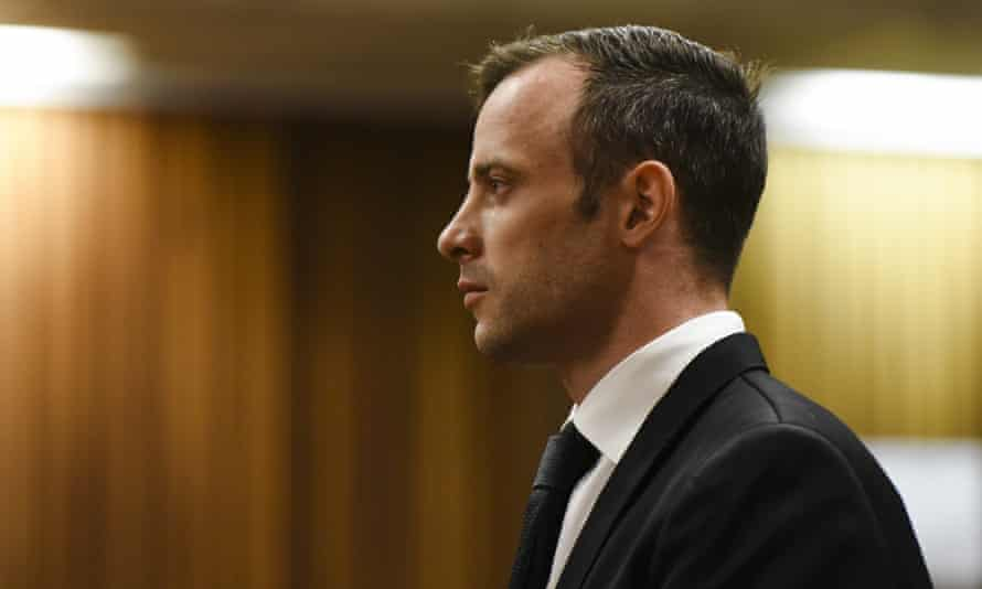 Oscar Pistorius at the Pretoria high court