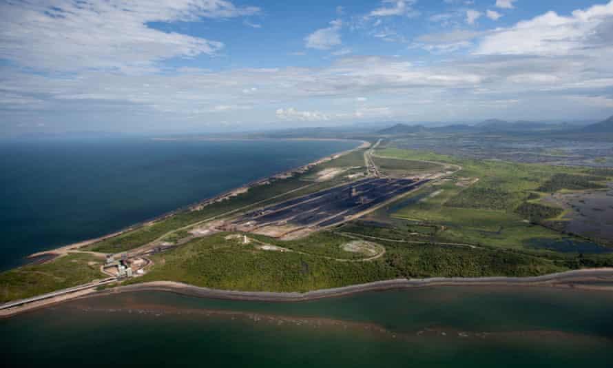 Abbot Point in Queensland.