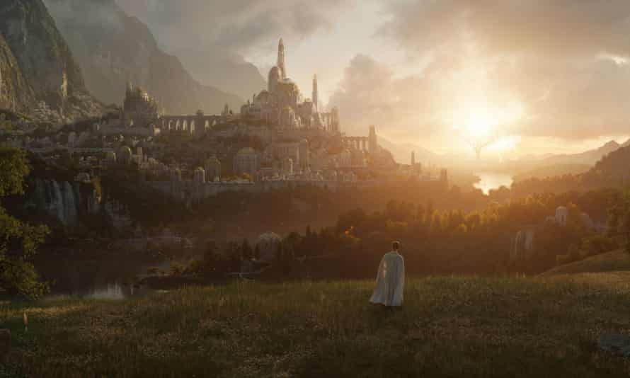 A still from The Lord of the Rings series