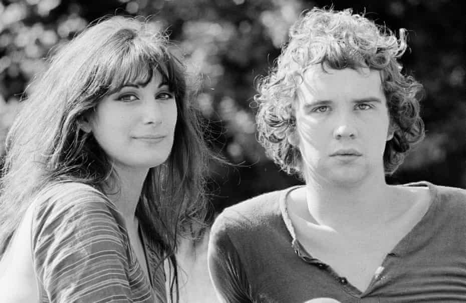 John Martyn and his wife Beverley, 1970.