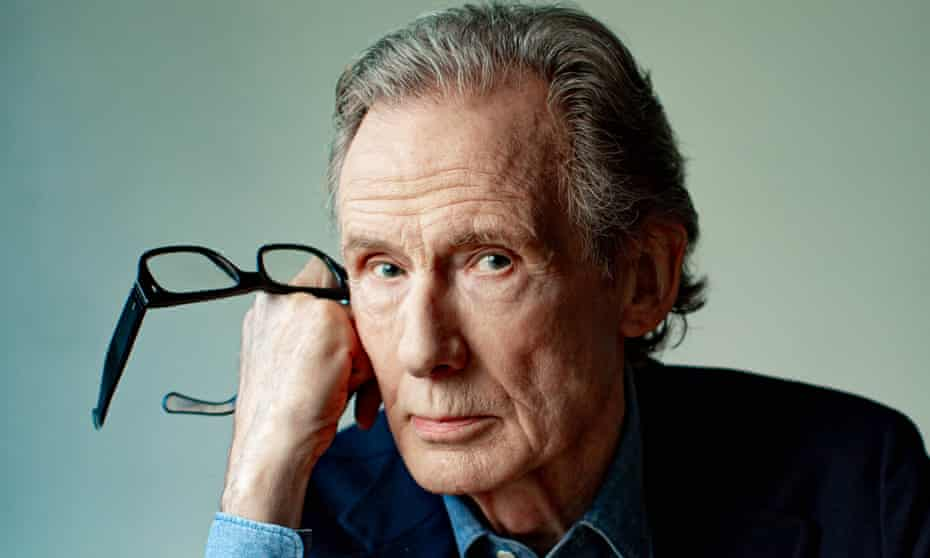 'I get called lots of L words – louche, languid, laconic': Bill Nighy wears cover wears shirt by Aspesi and jacket by Drakes.
