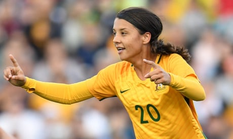 Sam Kerr's stellar year continues with PFA player of the year award
