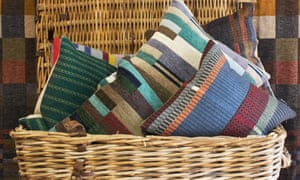 Wallace Sewell cushions and blankets