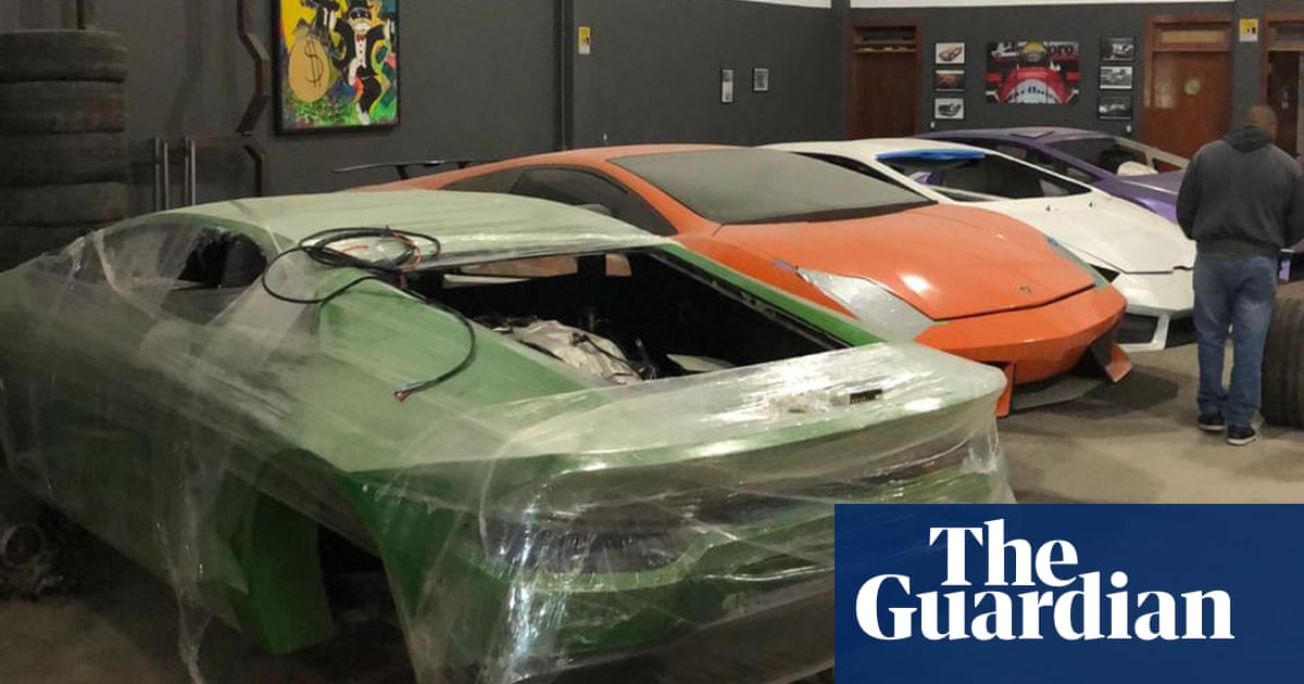 How Brazil police tackled a factory making fake Lamborghinis and Ferraris