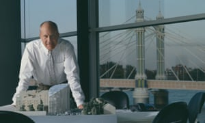 Norman Foster in his office.