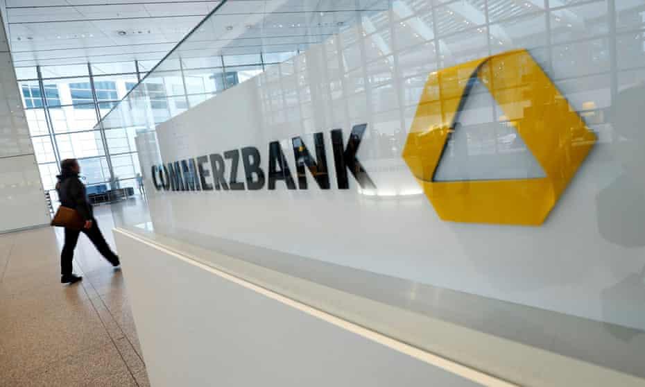 Commerzbank building in Frankfurt, Germany