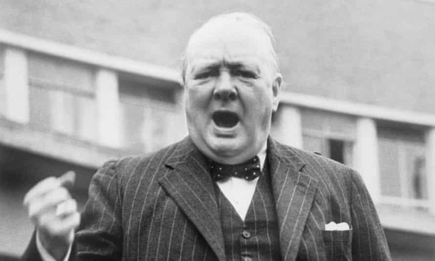 Avoiding hagiography … Churchill.