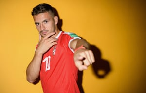 Southampton's Dusan Tadic is representing Serbia. It is only the second time Serbia have appeared in the World Cup finals as a nation. In 2006 they played as Serbia and Montenegro, and before then as various incarnations of Yugoslavia.