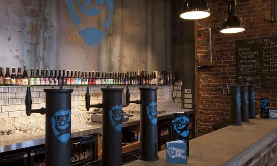 Tap dancing: the industrial bar at Aberdeen's new Brew Dog