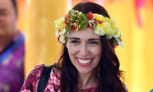 New Zealand's prime minister, Jacinda Ardern, has been recognised for her contribution to the Pacific region.