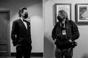 Tom Hiddleston with official Bafta photographer Greg Williams