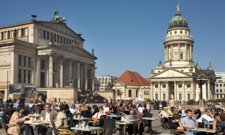 Gendarmenmarkt in Berlin, Germany.