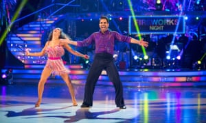 Dr. Ranj and Janette on Strictly