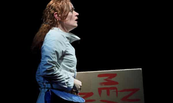 Natalie Gavin (Helen) in There Are No Beginnings.