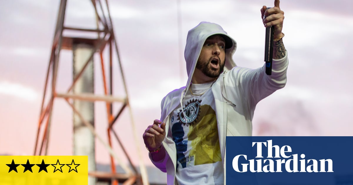 Eminem review – the rap god struggles to generate energy
