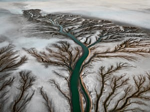 Colorado River Delta #2, Near San Felipe, Baja, Mexico, 2011 by Edward Burtynsky