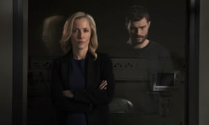 Heart of darkness … Gillian Anderson and Jamie Dornan in The Fall.